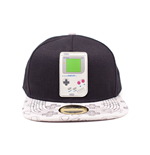 NINTENDO Gameboy Rubber Patch Snapback Baseball Cap, One Size, Multi-colour
