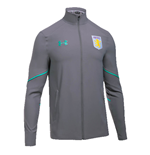 2017-2018 Aston Villa Woven Training Jacket (Graphite)