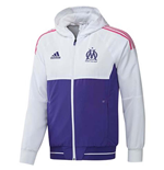 2017-2018 Marseille Adidas Presentation Jacket (White)
