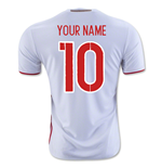 2016-2017 Russia Away Shirt (Your Name)