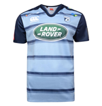 2017-2018 Cardiff Blues Home Pro Rugby Shirt