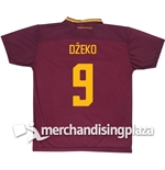 AS Roma Home 2017/2018 Replica Jersey Džeko 9
