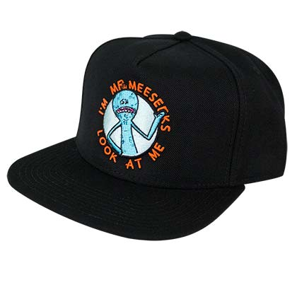 Rick And Morty Black Mr. Meeseeks Snapback Hat