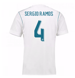 2017-18 Real Madrid Home Shirt (Sergio Ramos 4)