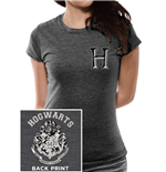 Harry Potter - Hogwarts Varsity - Women Fitted T-shirt Grey