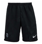 2017-2018 PSG Nike Third Shorts (Black)