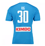 2016-17 Napoli Authentic Home Shirt (Rog 30)