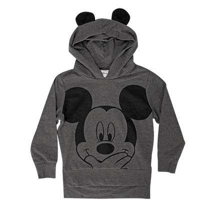 Mickey Mouse Youth Grey Toddler Costume Hoodie