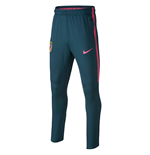 2017-2018 Atletico Madrid Nike Training Pants (Space Blue) - Kids