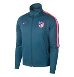 2017-2018 Atletico Madrid Nike Authentic Franchise Jacket (Space Blue)