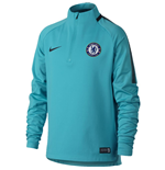 2017-2018 Chelsea Nike Drill Training Top (Omega Blue) - Kids