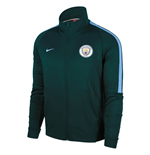 2017-2018 Man City Nike Authentic Franchise Jacket (Outdoor Green) - Kids