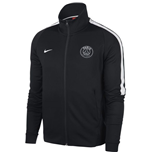 2017-2018 PSG Nike Authentic Franchise Jacket (Black)