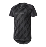 2017-2018 Real Madrid Adidas SSP Graphic Tee (Black)