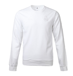 2017-2018 Real Madrid Adidas SSP Crew Sweater (White)