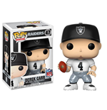 NFL POP! Football Vinyl Figure Derek Carr (Oakland Raiders) 9 cm