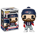 NFL POP! Football Vinyl Figure Julian Edelman (New England Patriots) 9 cm