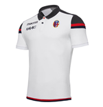 2017-2018 Bologna Cotton Polo Shirt (White)