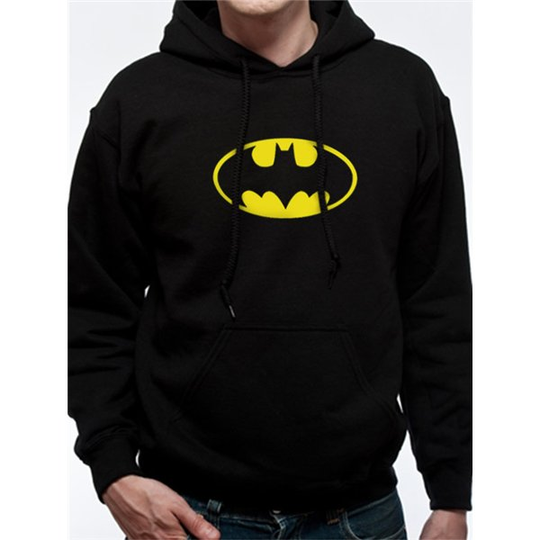 Batman - Logo - Unisex Hooded Sweatshirt Black