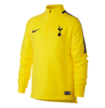 2017-2018 Tottenham Nike Drill Training Top (Opti Yellow) - Kids