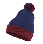 2017-2018 Barcelona Nike Bobble Hat (Navy)