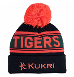 2017-2018 Leicester Tigers Knitted Bobble Hat (Navy)
