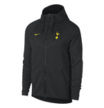 2017-2018 Tottenham Nike Tech Fleece Windrunner Jacket (Black)