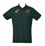 2017-2018 South Africa Springboks Performance Polo Shirt (Bottle Green)