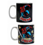 Marvel Comics Heat Change Mug Spider-Man