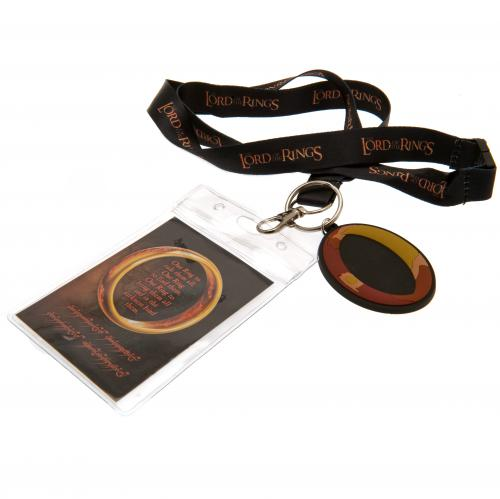 Lord Of The Rings Lanyard & Keyring Set