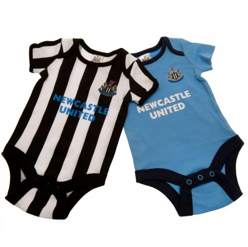 Newcastle United F.C. 2 Pack Bodysuit 12/18 mths ST