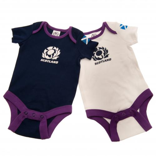 Scotland R.U. 2 Pack Bodysuit 9/12 mths
