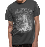 Star Wars - Classic New Hope - Unisex T-shirt Grey