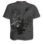 Night Riffs - T-Shirt Charcoal