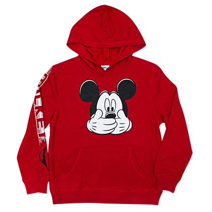 Mickey Mouse Hush Red Men's Hoodie
