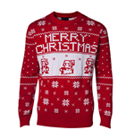 Nintendo - Super Mario Knitted X-Mas Sweater