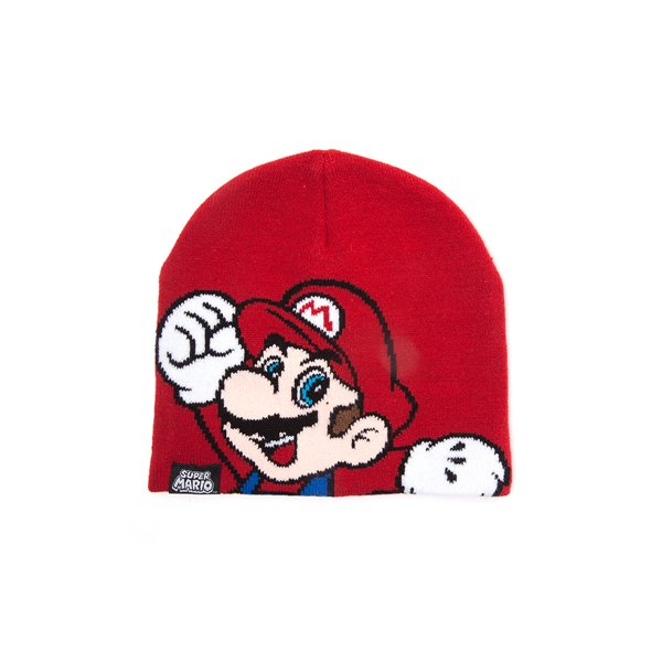 a8129ed1857 Official Nintendo - Super Mario Kids Beanie  Buy Online on Offer