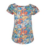 Pokémon - All Over Starting Characters T-shirt