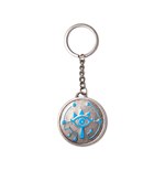 Zelda - Breath Of The Wild - Sheikah Eye Silver Coin Metal Keychain
