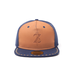 Zelda Breath of the Wild - Z Game Logo Leather And Denim Snapback