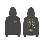 Zelda Breath of the Wild - Sheikah Eye and Link at back Hoodie