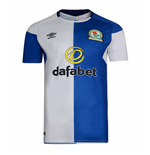 2017-2018 Blackburn Rovers Umbro Home Football Shirt