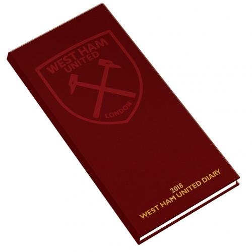 West Ham United F.C. Pocket Diary 2018