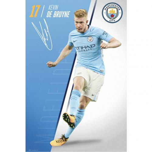 Manchester City F.C. Poster De Bruyne 45