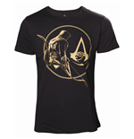 AC Origins - Golden Bayek & Crest T-shirt