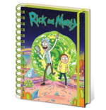 Rick and Morty Notebook A5 Portal