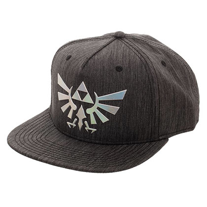 LEGEND OF ZELDA Iridescent Grey Woven Snapback Hat