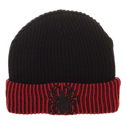 SPIDERMAN Embroidered Logo Reversible Beanie