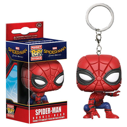 Funko Pop Spider-Man Keychain