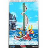 The Legend of Zelda The Wind Waker Statue Link on The King of Red Lions 64 cm